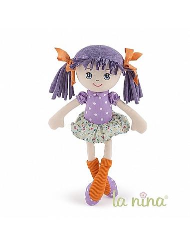 OLIVIA FLOR VERDE 35CM - LA NINA